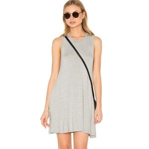 BLQ | Revolve Heather Grey Sleeveless Swing Dress